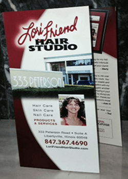 Lori Friend Hair Studio Brochure RS