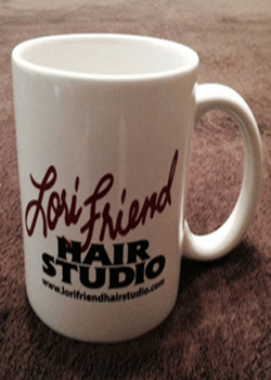 Lori Friend Hair Studio Mug RS