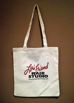Lori Friend Hair Studio Tote Bag RS